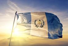 Guatemala Flag Waving On The T...