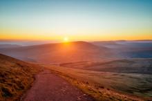 Brecon Beacon Hike In Southern Wales Taken In November 2018 Taken In Hdr