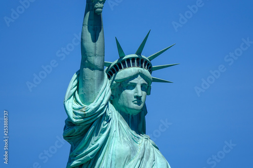Foto  Statue of liberty, Manhattan, New York, USA