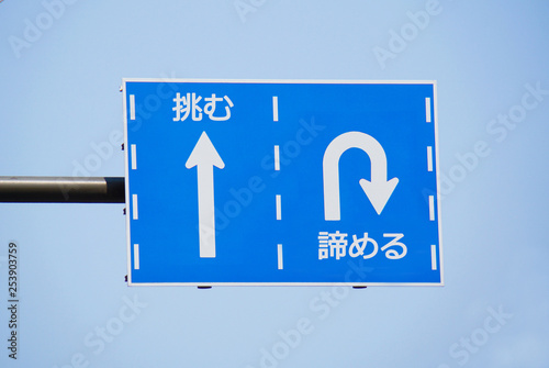 Fotografía  人生の交通標識