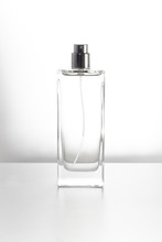 Clear Glass Perfume Bottle Package Product Cosmetic Beauty Cologne Aroma With With Background