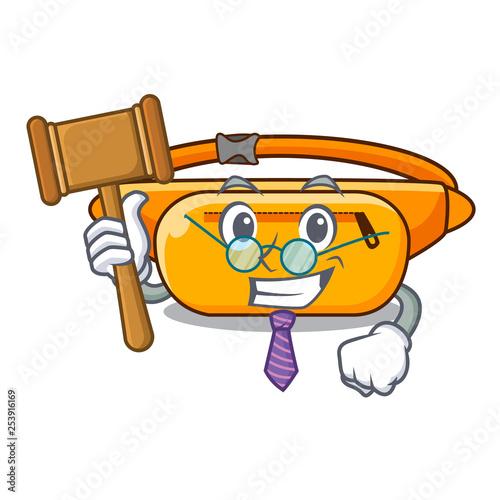 Fotografie, Obraz  Judge waist bag isolated in the cartoon