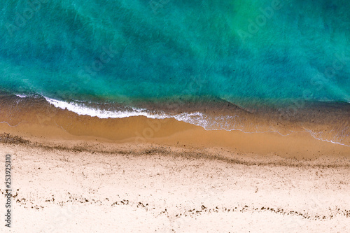 Stickers pour porte Pierre, Sable Summer photo of beach and sea