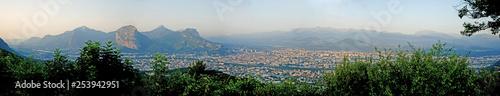 Fotografia, Obraz  Panoramique de Grenoble depuis St Nizier