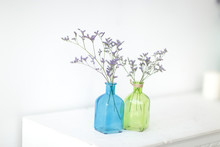 Flower Decoration In Glass Bot...