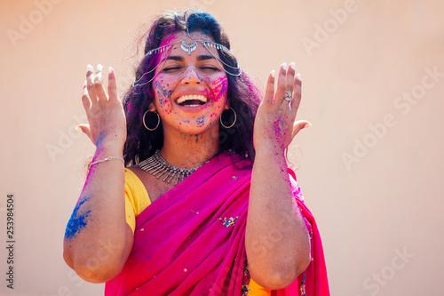 Fotografia Holi Festival Of Colours