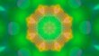 Colorful Kaleidoscopic Video Background Loop green natural abstract background
