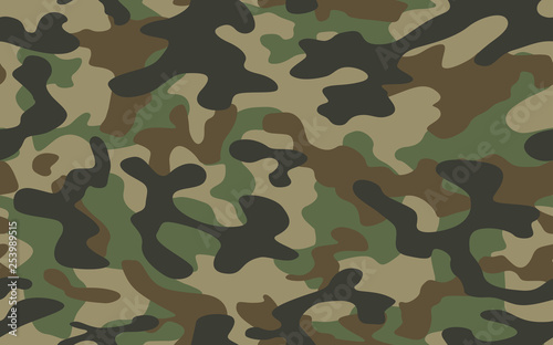 texture military camouflage repeats seamless army green hunting Canvas-taulu