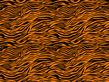 Stripe Animals Jungle Tiger Ze...