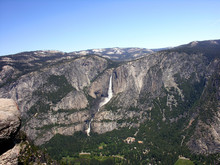 View To Yosemite Falls From Gl...