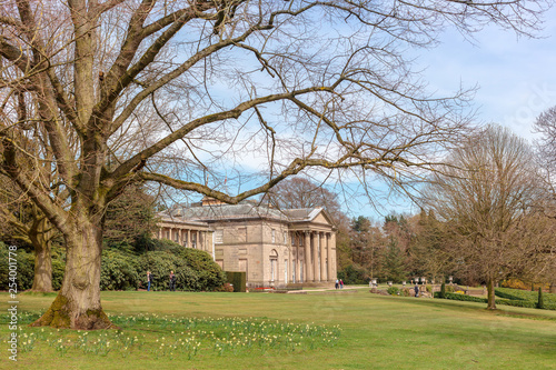 Fotografia, Obraz Historic English Stately Home and park in Cheshire, UK.