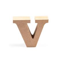 Wood Letter V