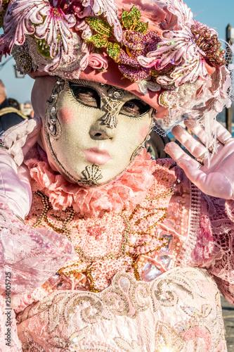 Fototapety, obrazy: Déguisement carnaval de venise