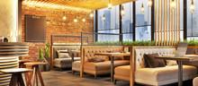 Modern Cafe Design Interior Wi...