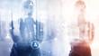 canvas print picture - HR - Human resources management and recruitment concept.