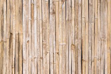 Grunge i wietrzejący tradycyjny egzotyczny bambus ściany tło