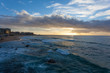 Sunrise at Newcastle Beach - Newcastle NSW Australia