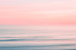canvas print picture - Abstract blurred sunrise sky and  ocean nature background