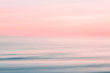 Abstract Blurred Sunrise Sky A...