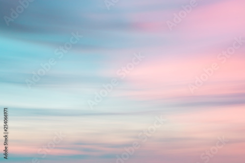 Obraz Defocused sunset sky  natural background - fototapety do salonu