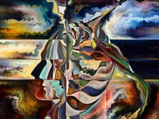 FototapetaThe Escape of Living Canvas