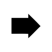 Flat Symbol Arrow Symbol