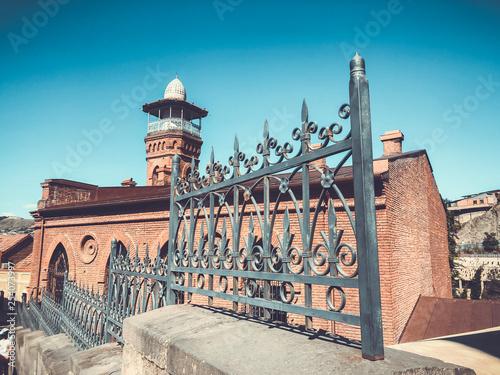 Fotografie, Obraz  Mosque - old Tbilisi architecture
