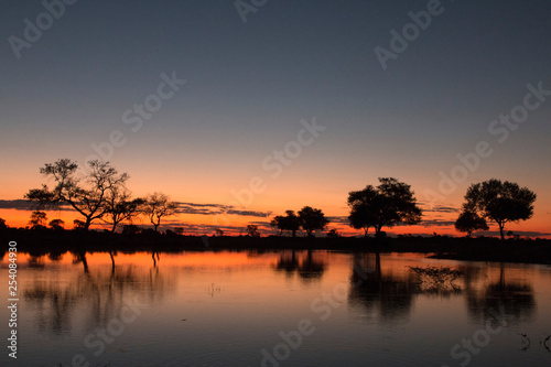 Glorious Sunset in Africa