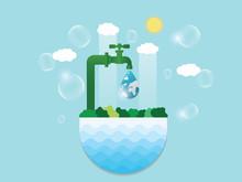 Saving Water And World Environ...