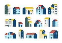 Minimal Flat Houses. Simple Ge...