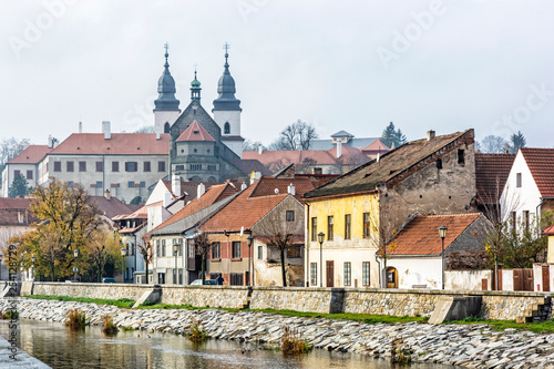 Photo  Jewish quarter and chateau, Trebic, Czech republic