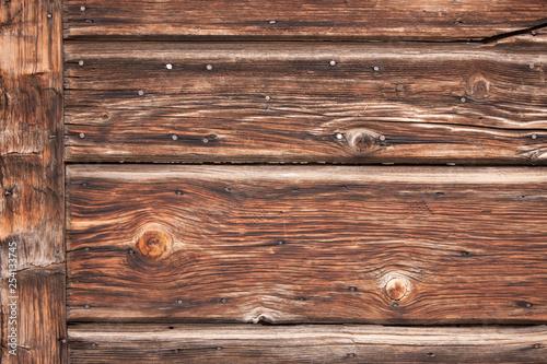 Fotografie, Obraz  sfondo, vecchia tavola di legno consumata dal tempo
