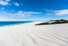 De Hoop Nature Reserve White Dunes And Crystal Clear Waters Of The Indian Ocean