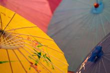 Many Japanese Umbrella