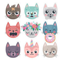 Cute Kittens. Characters With ...