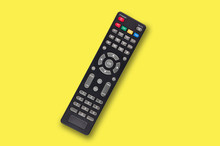 Single Black Plastic Remote Co...
