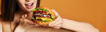 Fast Food Concept. Tasty Unhea...