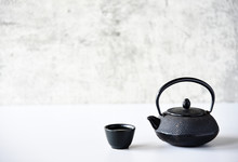 Chinese Tea Oriental Drink Style On The Table