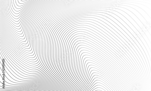 Obraz Vector illustration of the pattern of the gray lines abstract background. EPS10. - fototapety do salonu
