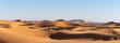 canvas print picture - Dromadaires dans le désert du Sahara au Maroc