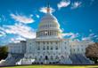 canvas print picture - Capitol Building, Washington DC
