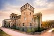 Leinwanddruck Bild - MANTUA: Medieval fortress, Gonzaga Saint George (Giorgio) castle in Italy, Mantua (Mantova)