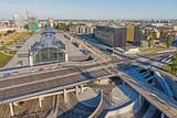 Fototapeta Miasto - Dworzec Kolejowy- Łódź Fabryczna