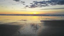 Long Panoramic Pacific Ocean S...