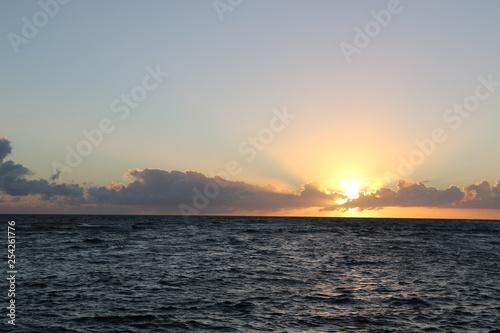 Island sunset
