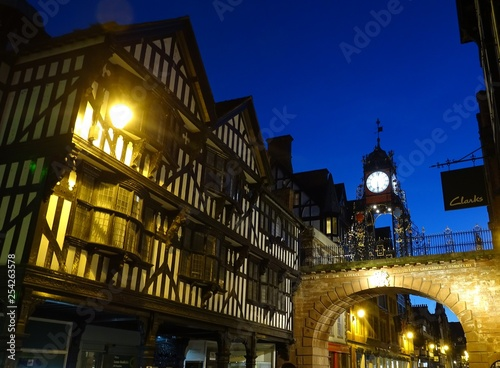 Fotografie, Tablou Eastgate Clock, Chester - Cheshire, England, UK