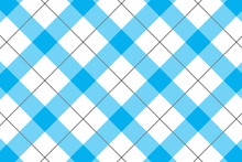 Sky Blue And White Tablecloth ...