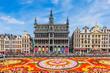canvas print picture - Brussels, Belgium.