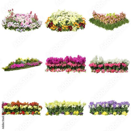 Valokuvatapetti 花壇の切り抜き素材