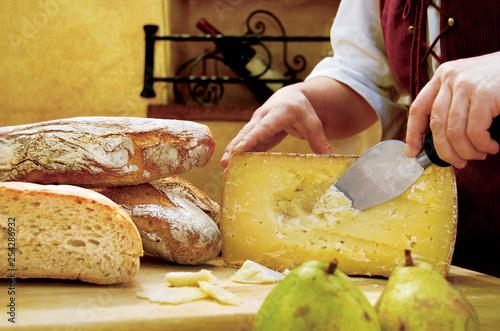 Photo  Pecorino cheese from Sardinia